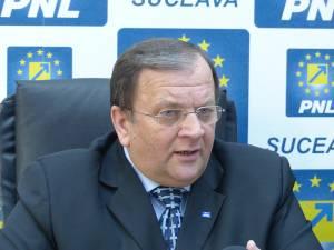 Liderul PNL Suceava şi preşedinte al Consiliului Judeţean, Gheorghe Flutur