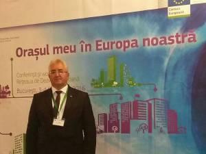 Primarul Sucevei a participat la evenimentul de la Bucureşti la invitația comisarului european Corina Crețu