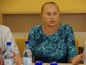 Doctorul oncolog Doina Ganea-Motan, directorul medical al Spitalului de Urgenţă