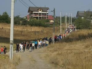 """""""Drumeţie pentru O Nouă Viaţă""""  s-a desfăşurat pe traseul Moara - Mănăstirea Hagigadar"""