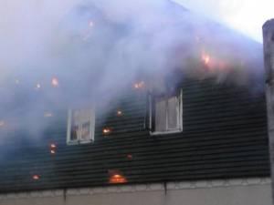 Cantonul Silvic Solca, afectat grav de un puternic incendiu