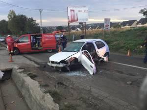 Accidentul rutier care a avut loc la Ipoteşti