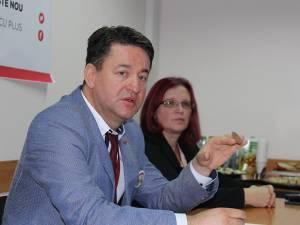 Lucian Vacariu, directorul Auchan Suceava, a invitat sucevenii să depună jetoanele Mobilizatron în urma proiectului pe care vor să îl susțină