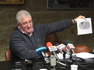 Ion Lungu a prezentat schema de montare a instalaţiei de nocturnă de pe stadionul Areni
