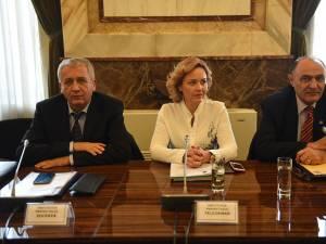 Prefectul Constantin Harasim a participat la o întâlnire de lucru la sediul MAI