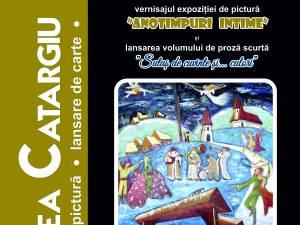 Expoziție de pictură și lansare de carte, la Gura Humorului