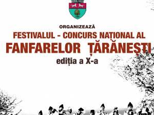 Festivalul Fanfarelor Țărăneşti, la Calafindeşti
