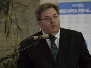 Preşedintele Organizaţiei Judeţene PMP Suceava, Corneliu Popovici