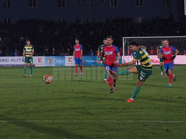 Foresta a pierdut la limită cu Steaua în Cupa României