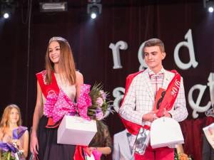 """Melania Ghețău și Cezar Vlonga, Miss și Mister """"Eudoxiu Hurmuzachi"""" 2016"""