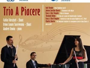 Concert de flaut şi pian cu Trio A Piacere