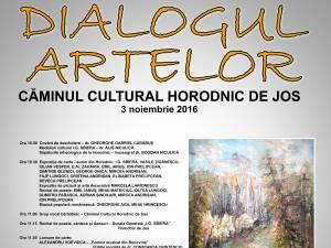 """""""Dialogul Artelor"""", la Horodnic de Jos"""