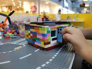Orăşelul Lego va fi la dispoziţia copiilor de vineri, 4 noiembrie, la Shopping City Suceava