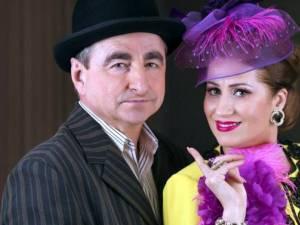 Actorii Vasile Muraru şi Valentina Fătu