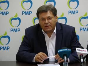 Preşedintele PMP Suceava, Corneliu Popovici