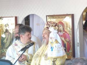 PS episcop Demosten la sfinţirea noii biserici de la Brădățel