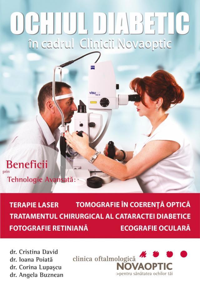 "Tratamentul ""Ochiului Diabetic"" la Novaoptic"