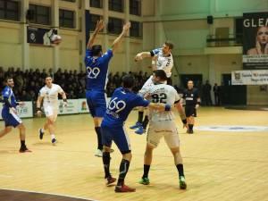 Universitatea a pierdut la 5 goluri disputa cu CSM București