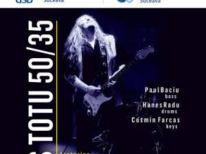 Concert de blues cu Rareș Totu