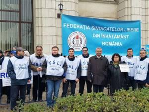 Sindicaliști din toată țara au cerut oficialilor de la București plata dobânzilor datorate