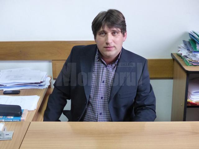 Purtătorul de cuvânt al Inspectoratului Şcolar Suceava, insp. Cezar Anuţei