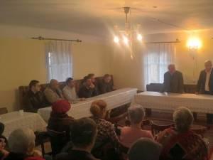 Silviu Vexler și Sorin Golda, la Comunitatea Evreilor din Suceava