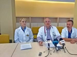 Dr. Ana Miron, dr. Mihai Ardeleanu și dr. Anatol Buzdugan