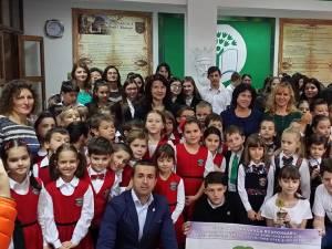 """Proiectul """"Mănâncă responsabil"""", la Şcoala Gimnazială """"Bogdan Vodă"""" Rădăuţi"""