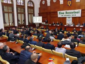 Şedinţa solemnă a Consiliului Judeţean Suceava