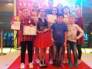 Copiii de la Clubul Sportiv Invictus Moldoviţa