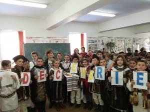 Ziua Naţională a României, la Școala Gimnazială Stulpicani