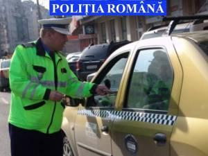 Control printre taximetriştii suceveni