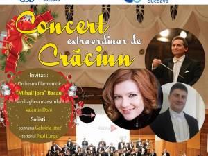 """Concert extraordinar de Crăciun cu Orchestra filarmonicii """"Mihail Jora"""" din Bacău"""