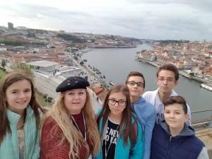 Elevi ai Școlii Gimnaziale Nr. 4 Suceava, în Portugalia printr-un proiect european