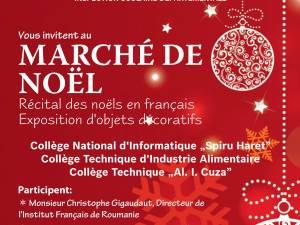 """""""Marché de Noël"""", la Biroul Francez"""