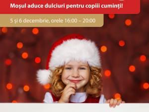 Mos Nicolae la Shopping City Suceava