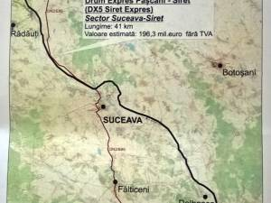 Construcţia drumului expres Paşcani-Siret va începe în 2017 cu tronsonul din judeţul Suceava