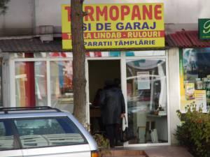 Magazinul din George Enescu când a fost deschis în 2015
