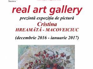 Expoziție de pictură la Real Art Gallery