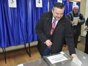 """Ioan Balan a votat pentru un """"viitor mai bun pentru fiecare dintre noi"""""""