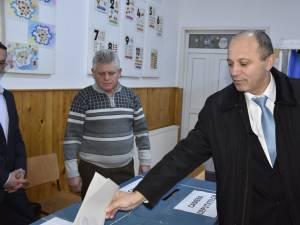 """Daniel Cadariu a votat cu """"încredere şi cu speranţă în viitor"""""""