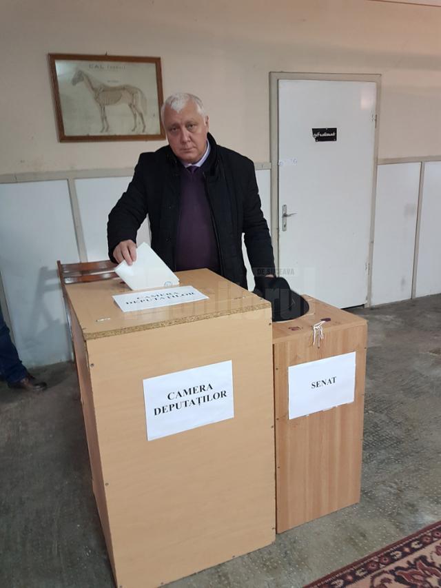 """Alexandru Paziuca votat pentru """"schimbare şi pentru o viaţă mai bună"""""""