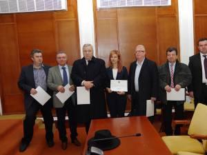 Doar şapte deputaţi și senatori suceveni şi-au ridicat certificatele de parlamentar