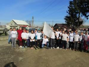 """Proiectul """"Împreună pentru pace"""", la Școala Gimnazială Corocăiești"""