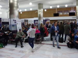 """Aeroportul """"Ştefan cel Mare"""" a avut anul acesta un număr record de pasageri"""