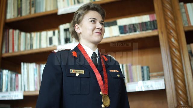 Sabina Calisevici a luat aurul olimpic