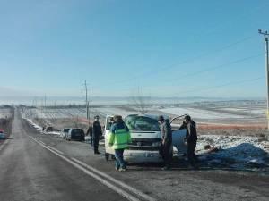 Accidentul s-a petrecut pe 31 decembrie, în jurul orei 11.00, între Ratoş şi Dorneşti