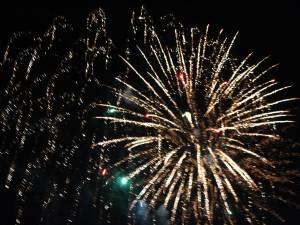 Spectaculos foc de artificii la trecerea in 2017