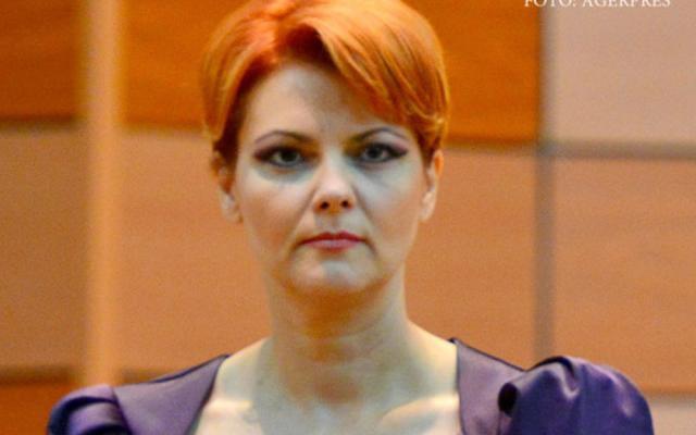 Ministerul Muncii - Lia Olguţa Vasilescu. Foto: STIRILEPROTV.RO