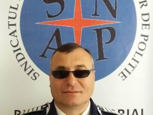 Agentul-şef principal Vasile Grumăzescu, liderul Sindicatului Naţional al Agenţilor de Poliţie (SNAP)